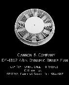 1852 Thinwall 48 in Dynamic Brake Fan