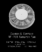 1703 Radiator Fan - 48 Inch Cap Top Top