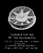 1704 Radiator Fan  48Inch Open Top