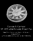 1853 Thinwall 48 Inch Dynamic Brake Fan