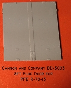 3003  8ft Plug Door for R-70-13