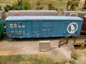 4005 BN/GN 50 ft Plate C Boxcar w 8 & 6 ft Plug Doors