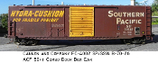 4002 SP/SSW B-70-16 50ft ACF Combo Door Box Car