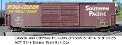 4003 SP/SSW B-70-14/-26 50ft ACF Double Sliding Door Box Car