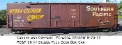 4004 Southern Pacific PC&F Double Plug Door Box Car