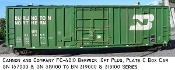 4010 GN/BN Berwick Built 10ft Plug Door Plate C Box Car