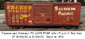 4023 SP B-100-32 40ft Box Car