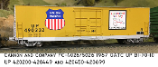 "4026 UP BI-70-10 10'6"" Plug Door Box Car"