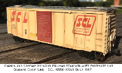 5036 Kit Bundle for 4036 SCL Pullman Std 40ft Phosphate Box Car