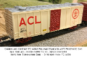 4040 ACL Pullman Std 40ft Phosphate Box Car