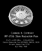 1706 Radiator Fan 36 Inch Open Top